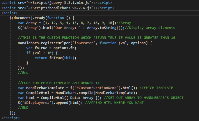 This is my jQuery code.